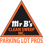 Mr. B's Clean Sweep Logo
